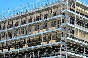 Rusztowania – przy budowie domu